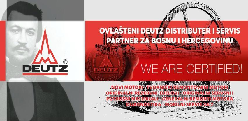 Jasmin M Žepče: Ovlašteni serviser Deutz motora