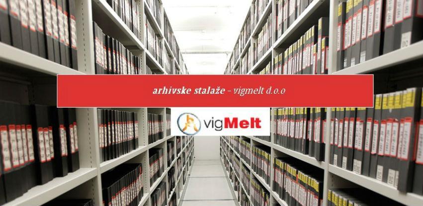 Opremite vaše arhivsko skladište po najvećim svjetskim standardima