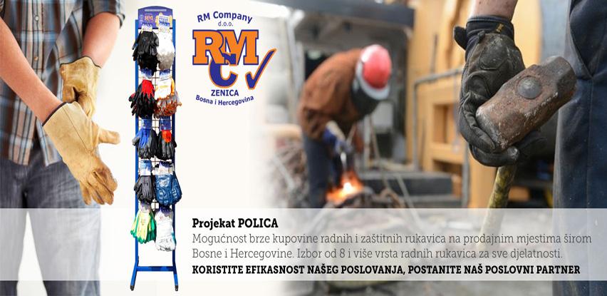 Projekat POLICA – Radne i zaštitne rukavice na prodajnim mjestima širom BiH
