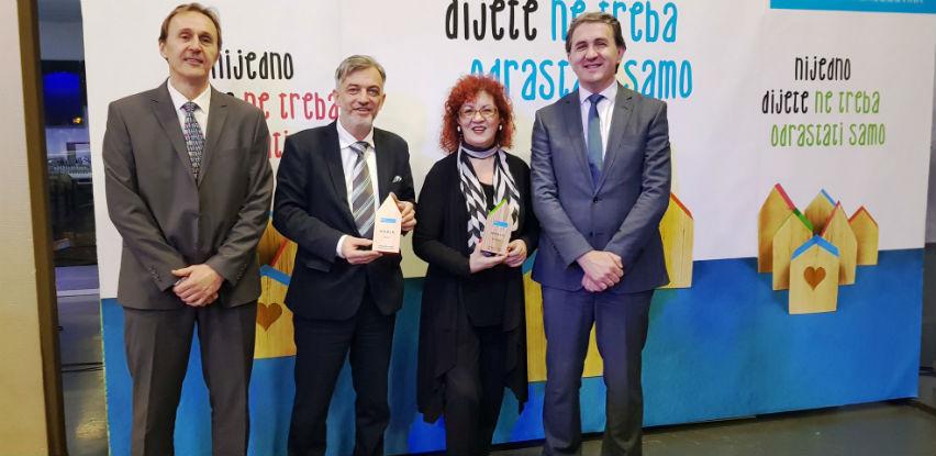 Veliki broj zahvalnica uručen je prijateljima SOS Dječijih sela BiH