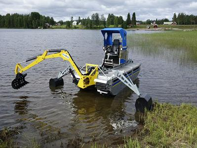 WINTEC za Općinu Konjic isporučio mašinu za čišćenje vodenih površina