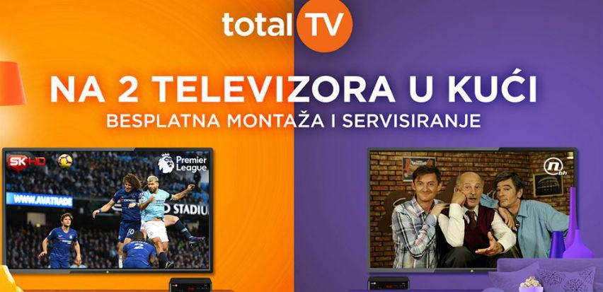 Velika jesenja akcija i duplo bolja zabava - Total TV na dva televizora