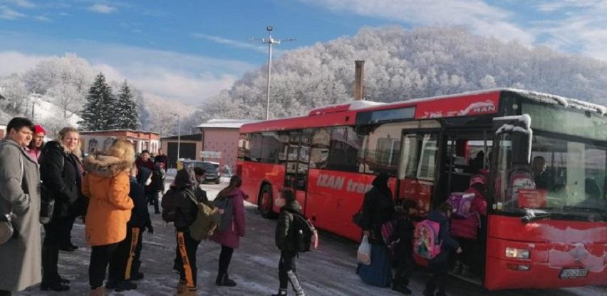 Općina Velika Kladuša će subvencionirati troškove prevoza učenika u 2021/22
