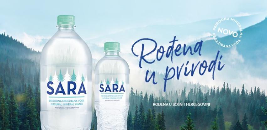 Rođena u prirodi – Sara prirodna voda