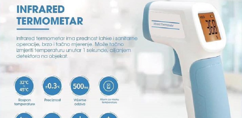 Infrared Termometar TM30R