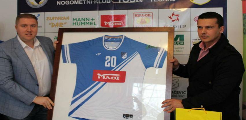 MADI pokazuje brigu za razvojem sporta u Tešnju - Podrška NK Tošk-u