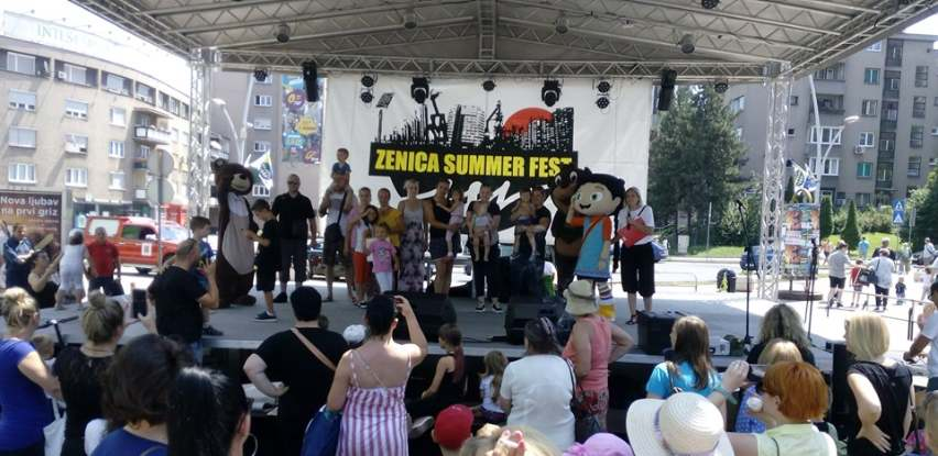 Multiplex Ekran event tim na Zenica Summer Festu