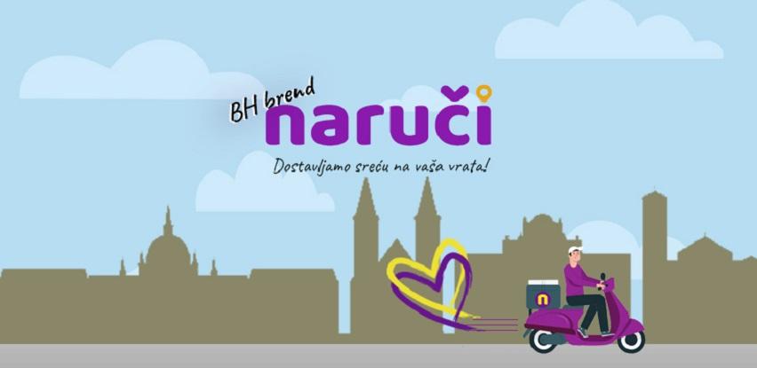 BH brand Naruči dostavlja sreću na vaša vrata!