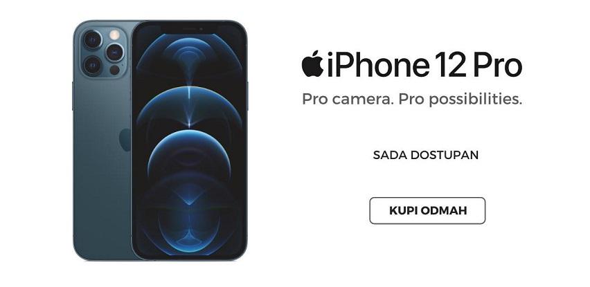 iPhone 12 Pro je sada dostupan u Mekline!