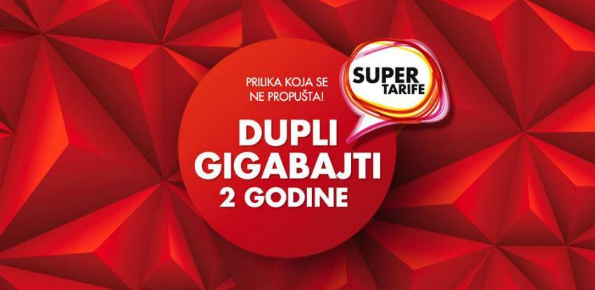 Duplo više gigabajta u Super tarifi i mobilni uređaj po atraktivnoj cijeni