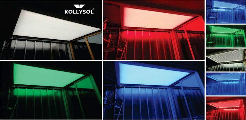 KOLLYSOL elastični svijetleći plafoni za ljepše radno okruženje