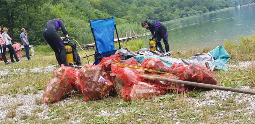 Peta akcija čišćenja Boračkog jezera