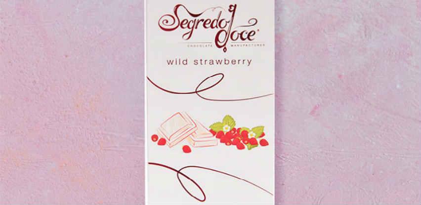 Savršena bijela čokolada sa intenzivnim okusom mlijeka i šumske jagode