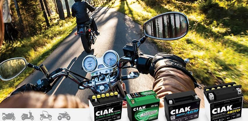 CIAK Moto akumulatori za vaše dvotočkaše