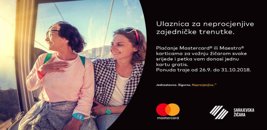 Sarajevska žičara i Mastercard - Ulaznica za neprocjenjive zajedničke trenutke