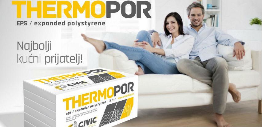 Thermopor EPS 70 - Odličan toplinski izolator