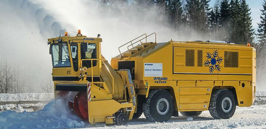 Snjegobacači - Najefikasnije čišćenje pista