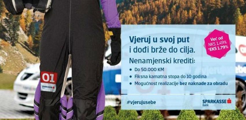 Nova akcijska ponuda nenamjenskih kredita Sparkasse Bank