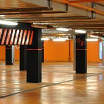 BBI Centar raspolaže moderno i sofisticirano uređenim parking prostorima