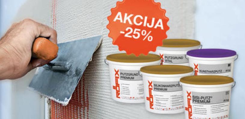 Jesenska prodajna AKCIJA RÖFIX termo-izolacijskih sistema