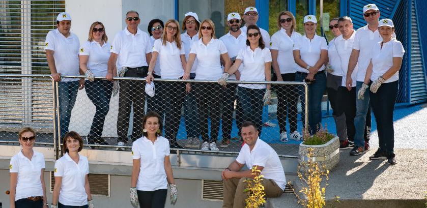 Nastavljene volonterske aktivnosti menadžmenta Raiffeisen banke