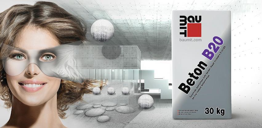 Novo u Baumit ponudi Beton B20