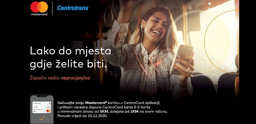 Iskoristite benefite na vožnjama Centrotransa uz Mastercard® kartice