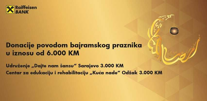 Raiffeisen banka već tradicionalno Kurban bajram obilježava donacijama