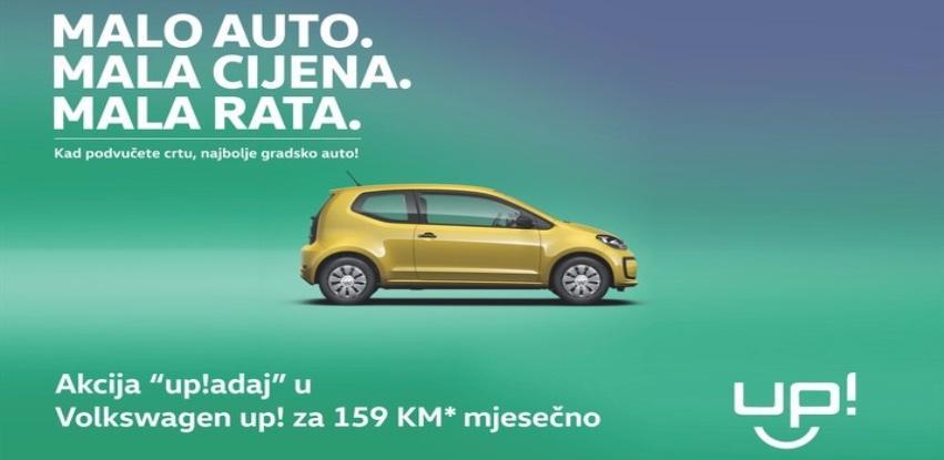 "Akcija ""up!adaj"" u Volkswagen up!"