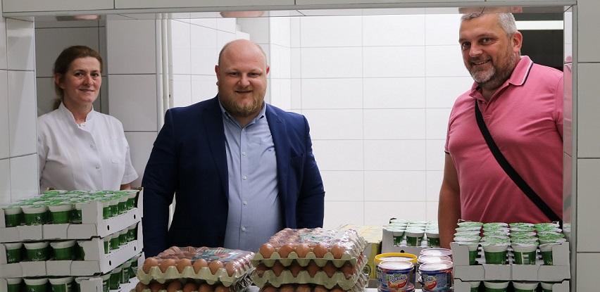 Podrška Addiko Bank Sarajevo u prehrambenim proizvodima za Dom Bjelave