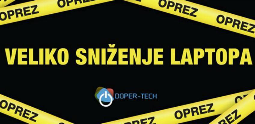 Doper – Tech Kiseljak: Veliko sniženje laptopa