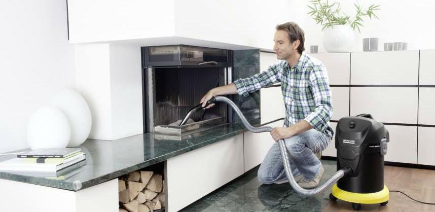 Kompaktan, praktičan, svestran: Novi Kärcher usisavač za pepeo AD3