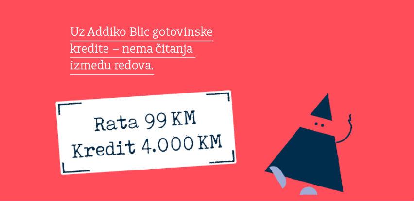 Sve je jasno na prvu - rata 99 KM za kredit od 4.000 KM