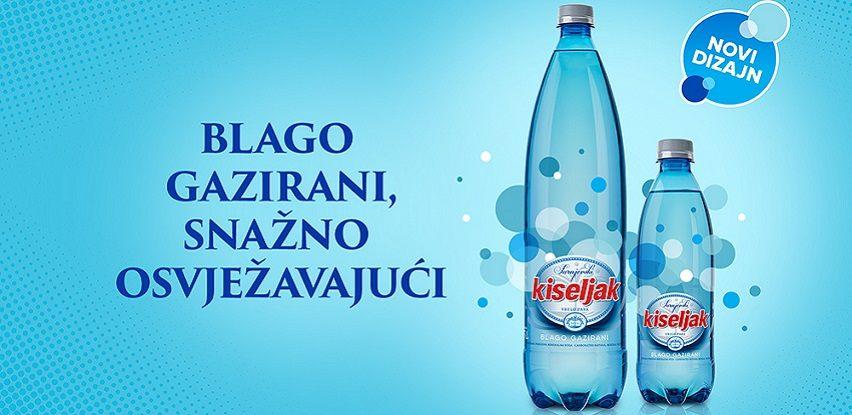 Sarajevski kiseljak blago gazirani ima novi dizajn
