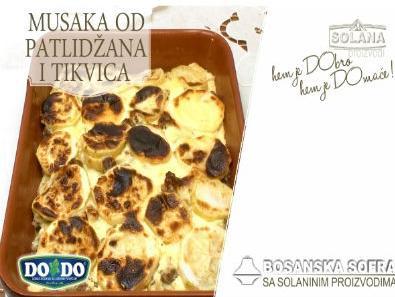 Solanin recept dana - Musaka od patlidžana i tikvica