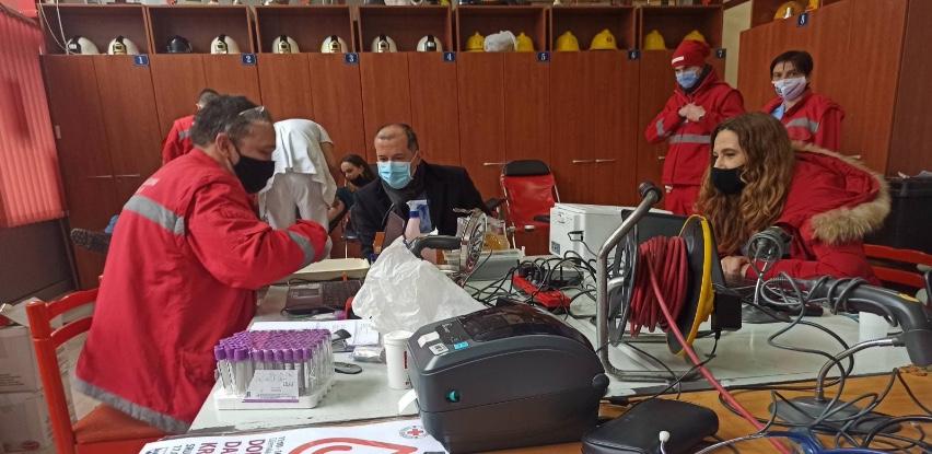 Načelnik Tanović podržao akciju dobrovoljnog darivanja krvi