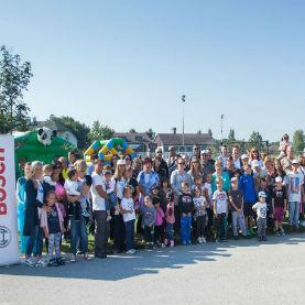 Zaposlenici tvrtke Robert Bosch uljepšali okoliš  SOS Dječjeg Sela Lekenik