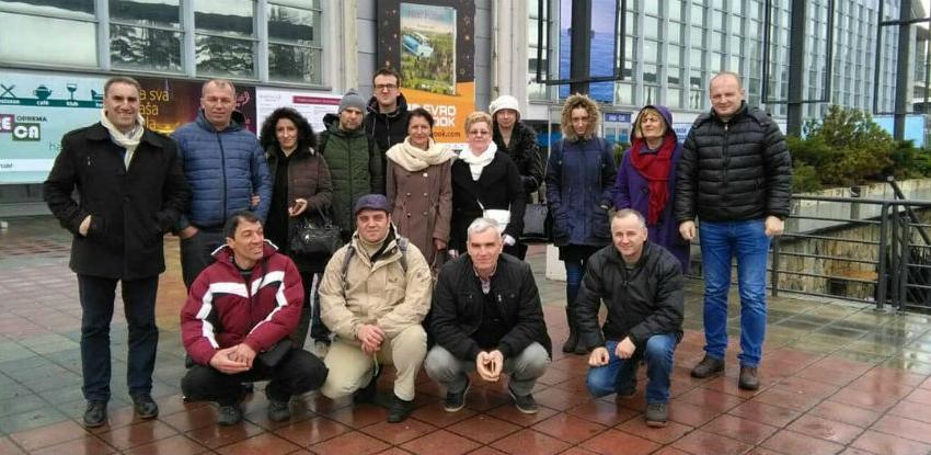 Alterural i 16 predstavnika udruženja posjetili 40. Sajam turizma u Beogradu