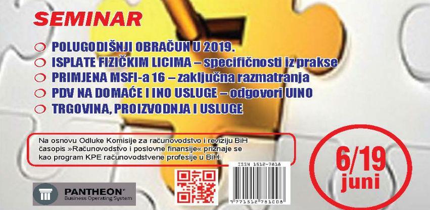 """Izašao je novi broj časopisa """"Računovodstvo i poslovne finansije"""" broj 06/19"""