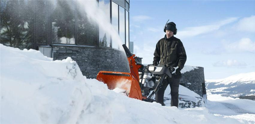 Neka pada snijeg jer Husqvarna bacači snijega su tu