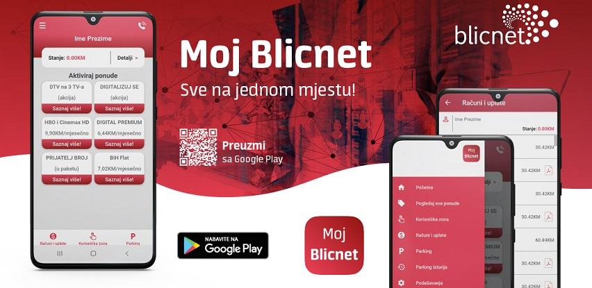 Novo: Moj Blicnet - Android mobilna aplikacija