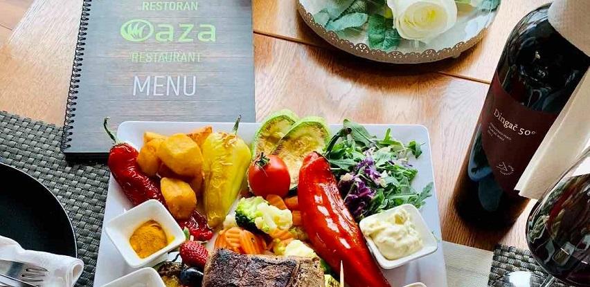 Osjetite miris ukusnih jela Restorana Oaza i u Vašem domu