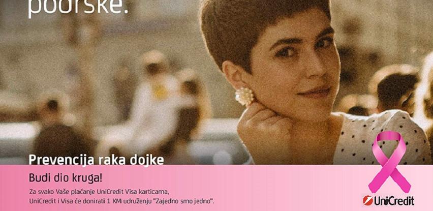 UniCredit u BiH - I ove godine Krug podrške za prevenciju karcinoma dojke