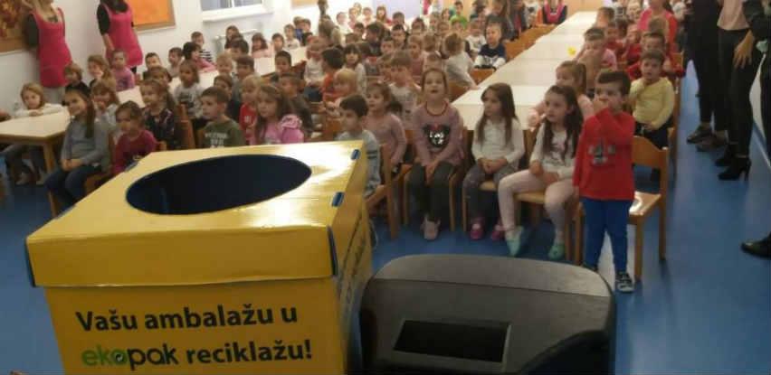 """Ekopak organizovao radionicu """"Učimo o reciklaži sa Zekopakom i Pčelicom Majom"""""""