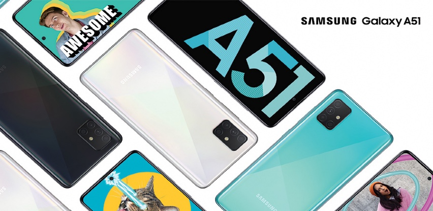 Novi Galaxy A51 i A71 u Domod-u