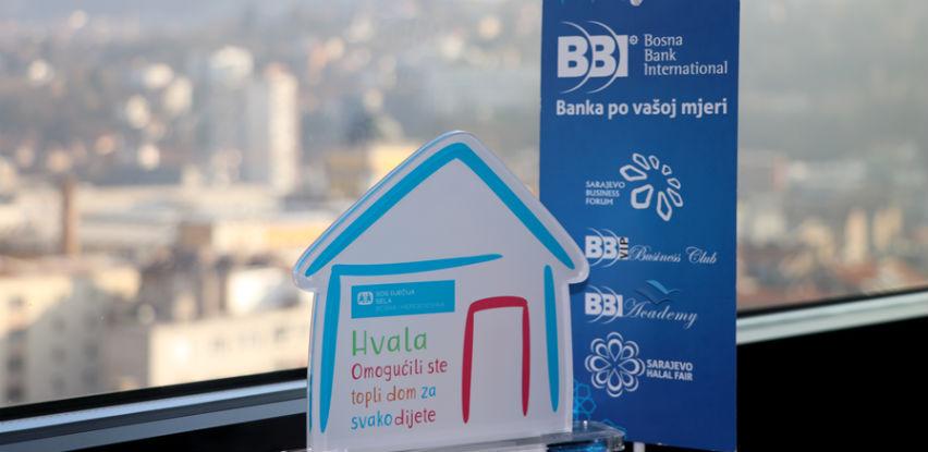 BBI banka prihod od ulaznica za SHF donirala SOS Dječijim selima u BiH