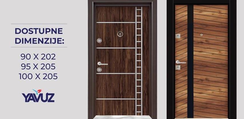 Novo u ponudi kompanije Yavuz - Blindirana vrata