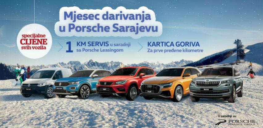 Mjesec darivanja u Porsche Sarajevu