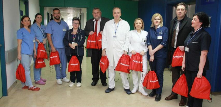 Zaposlenici Addiko banke posjetili Onkološku kliniku KSUC