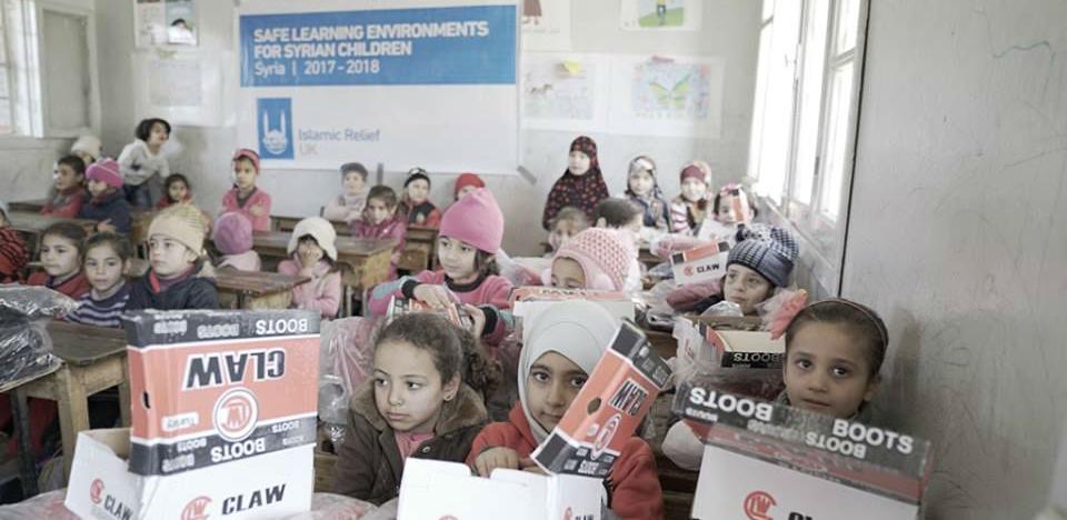 Islamic Relief - Prikupljanja humanitarne pomoći za Siriju